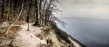 Panorama of coast Royalty Free Stock Photos
