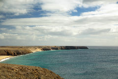 Panorama of coastline Royalty Free Stock Photo