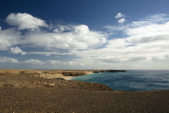 Panorama of coastline Royalty Free Stock Images