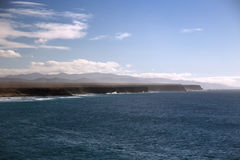Panorama of coastline Stock Image