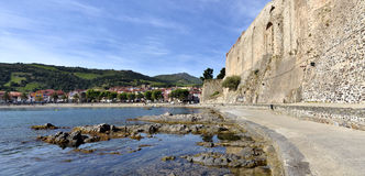 Collioure in France Stock Image