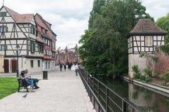 Panorama of Colmar Stock Image