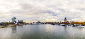 Panorama of Cologne Stock Photo