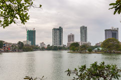 Panorama of Colombo in Sri Lanka Royalty Free Stock Image
