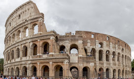 Panorama  of the Colosseum in Rome Royalty Free Stock Images