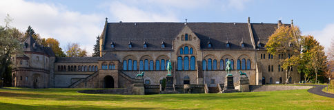 Kaiserpfalz em goslar, Alemanha Foto de Stock Royalty Free
