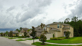 Panorama of a community in Florida Royalty Free Stock Images
