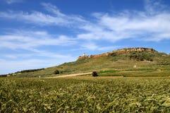 Panorama con il faro dell'AT Gordon, Gozo, Malta. Fotografia Stock