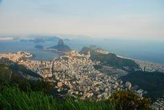 Panorama from Corcovado. Rio de Janeiro, Brazil Stock Photography