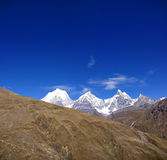 Panorama: Cordillera Huayhuash, Stock Photography