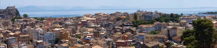 Panorama Corfu, Greece Stock Photos