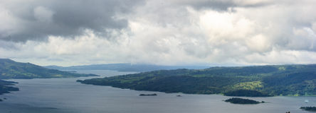 Panorama of Costa Rica Royalty Free Stock Image