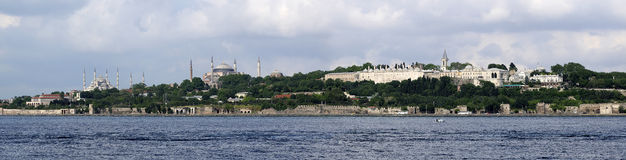 Panorama Costantinopoli Immagine Stock Libera da Diritti