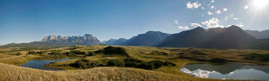 Panorama country view Royalty Free Stock Photos