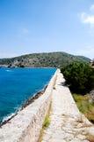 Panorama crétois (Crète) Photo stock