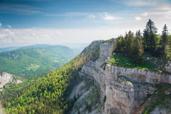 Panorama from Creux du van Royalty Free Stock Image