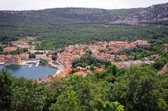 Panorama croata Imagen de archivo libre de regalías