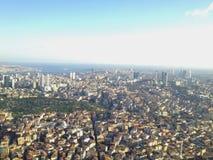 panorama Croatia capitol city Zagrzeb Obraz Stock