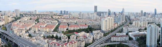 panorama Croatia capitol city Zagrzeb Fotografia Stock