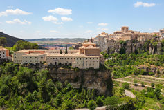 Panorama on Cuenca Stock Photography