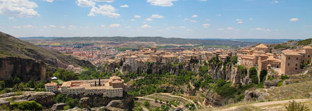 Panorama on Cuenca Royalty Free Stock Photography