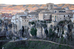 Panorama of Cuenca Royalty Free Stock Photography