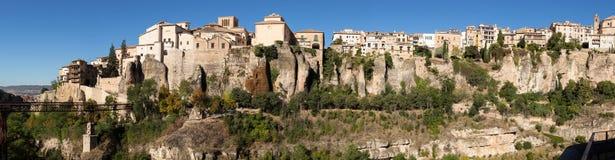 Panorama of Cuenca in Castilla-La Mancha, Spain Royalty Free Stock Photo