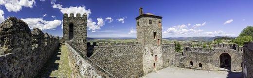Panorama cytadela, Braganca, Portugalia Zdjęcie Stock