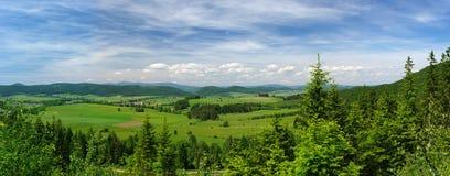 Panorama d'été image libre de droits