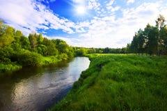 Panorama d'été en Russie photos libres de droits