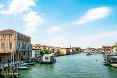 Panorama d'île de Murano Image libre de droits