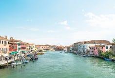 Panorama d'île de Murano Photos stock