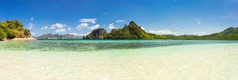Panorama d'île de serpent Images libres de droits