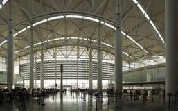Panorama A d'aéroport Image libre de droits