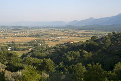 Panorama d'Anagni Photographie stock libre de droits