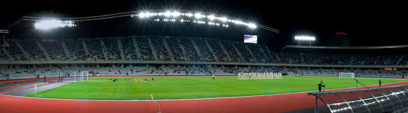 Panorama d'arène de Cluj Photos libres de droits