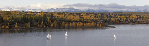 Panorama d'automne Photo libre de droits