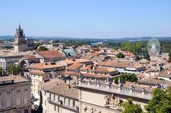 Panorama d'Avignon Photo libre de droits