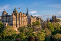 Panorama d'Edimbourg Photographie stock libre de droits