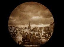 Panorama d'Edimbourg Image libre de droits