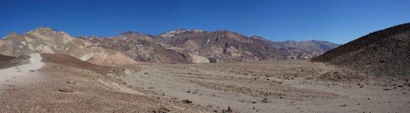 Panorama d'entraînement d'artistes dans Death Valley image stock