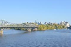 Panorama d'horizon de ville d'Ottawa Photographie stock