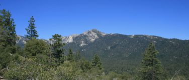 Panorama d'Idyllwild Photo libre de droits
