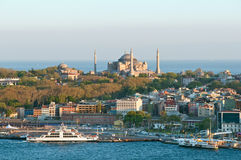 Panorama d'Istanbul Image libre de droits