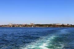 Panorama d'Istanbul, Turquie Photos stock