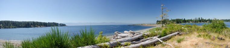 Panorama d'une broche naturelle Photographie stock libre de droits