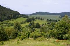 Panorama d'une République Tchèque Photos libres de droits