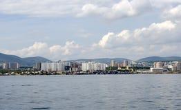 Panorama da área urbana Imagem de Stock Royalty Free