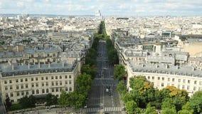 Panorama da antena de Sacre-Coeur filme