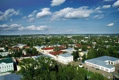 Panorama da arquitectura da cidade Fotos de Stock